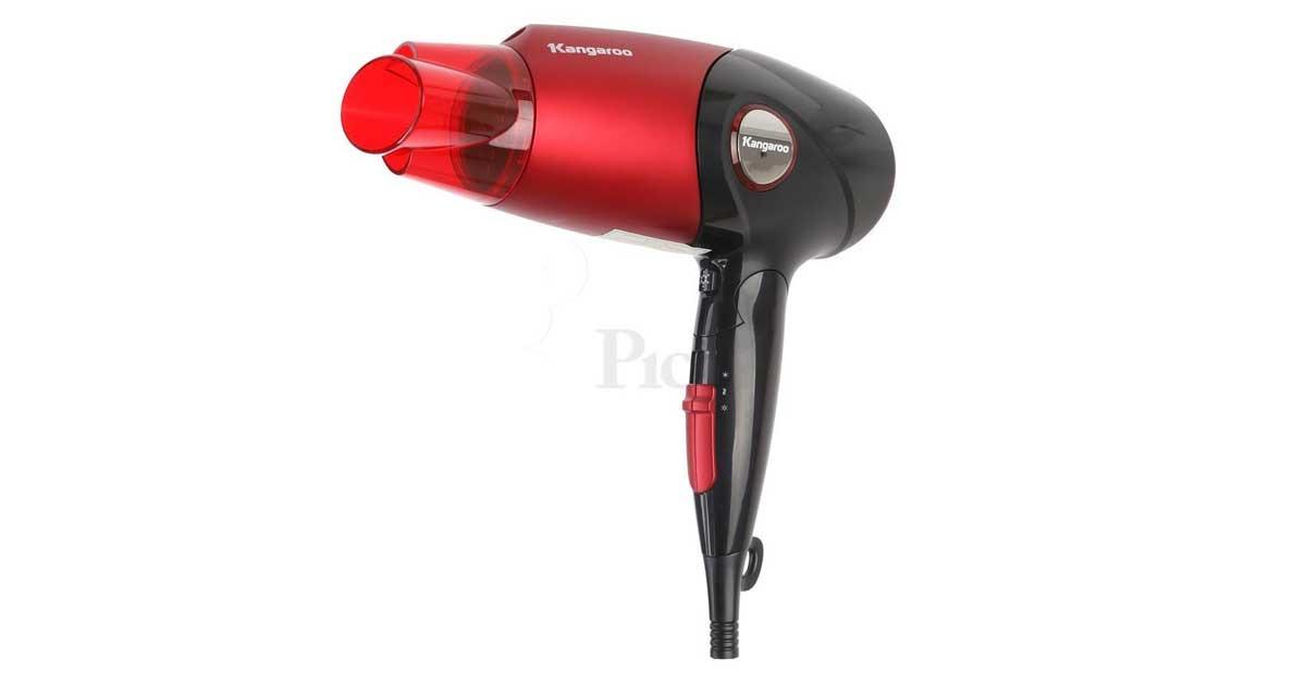 Máy sấy tóc Kangaroo KG626 thiết kế hiện đại