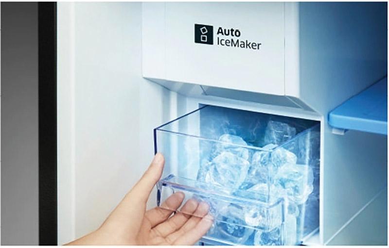 Tủ lạnh Samsung Inverter 360 lít RT35K5982BS/SV làm đá tự động