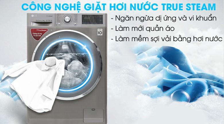 Máy giặt LG Inverter 9 kg FC1409S2E