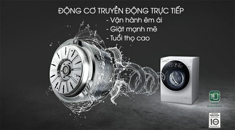 Máy giặt sấy LG FG1405H3W