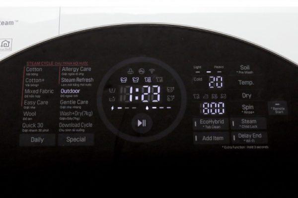 Máy giặt sấy LG FG1405H3W Inverter 10.5 kg