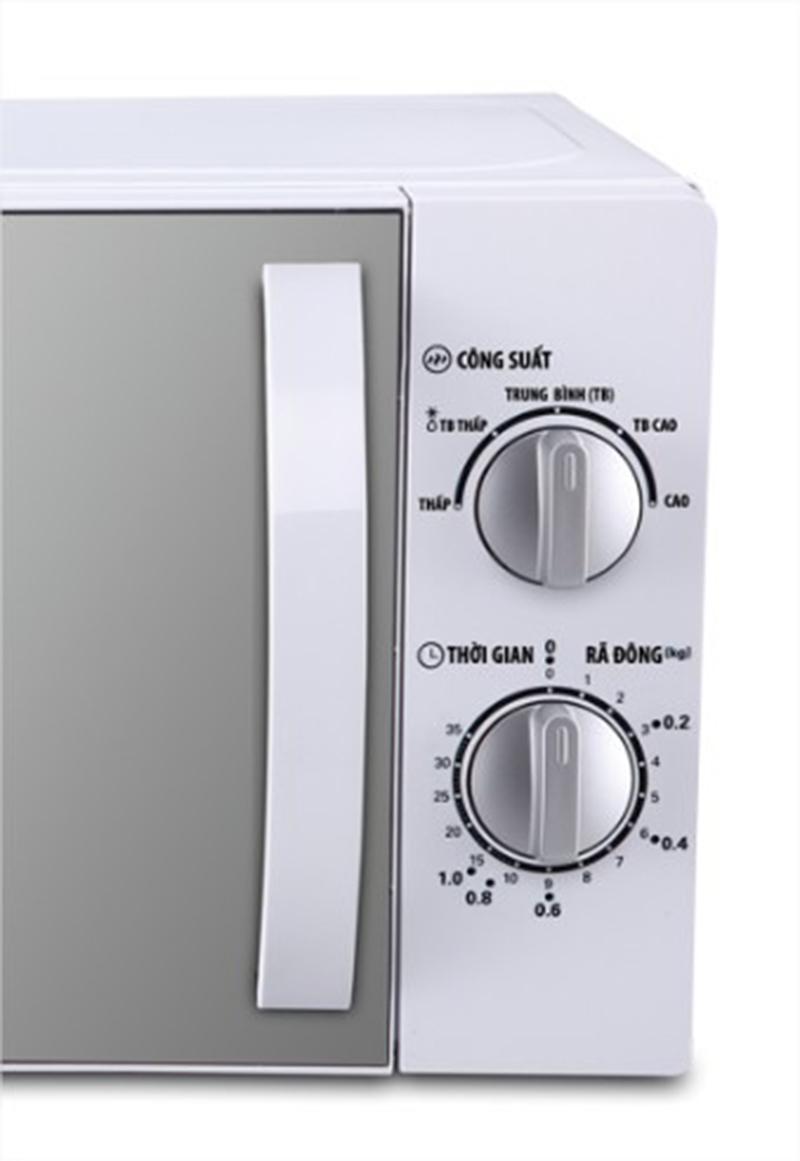 Lò vi sóng Bluestone MOB7709 20 lít Bảng điều khiển cơ dễ sử dụng