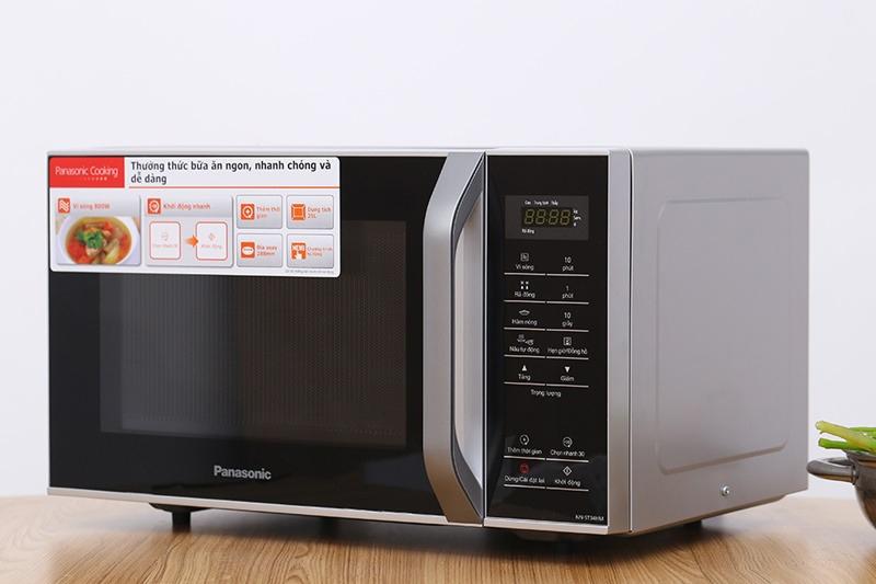 Công suất 800 W, nấu thức ăn chín nhanh, tiết kiệm điện và thời gian