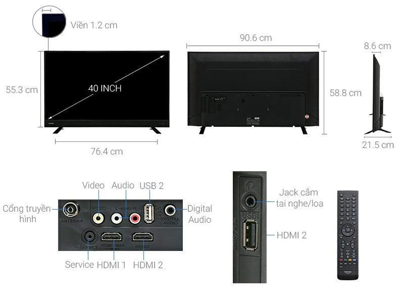 Tivi Toshiba 40L3750 40 inch
