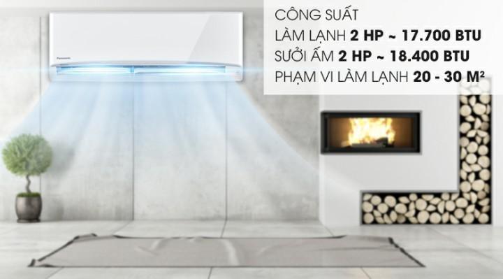 Panasonic 2 HP CU/CS-YZ18UKH-8