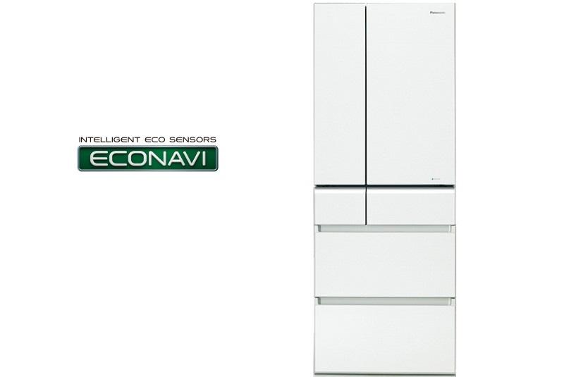 Tủ lạnh Panasonic Inverter 489 lít NR-F510GT-W2 công nghệ inverter