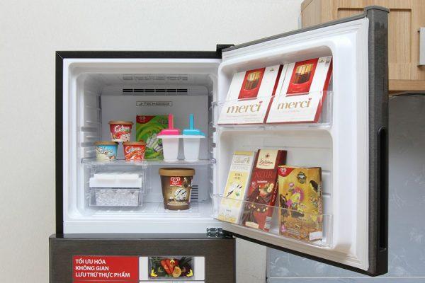 Tủ lạnh Sharp Inverter 271 lít SJ-X281E-DS