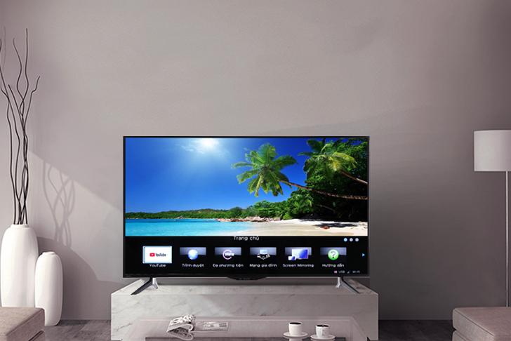 Những điều bạn cần biết về giao diện Easy Smart của Smart tivi Sharp 1