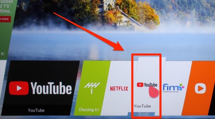 Cách tắt màn hình khi nghe nhạc trên Smart tivi LG 1