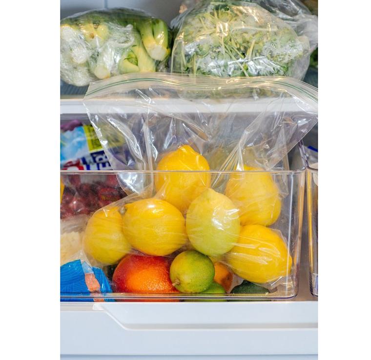 Giữ chanh và gia vị tươi lâu trong tủ lạnh 1