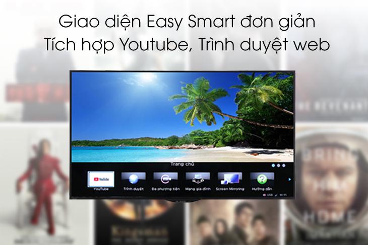 Những điều bạn cần biết về giao diện Easy Smart của Smart tivi Sharp 2