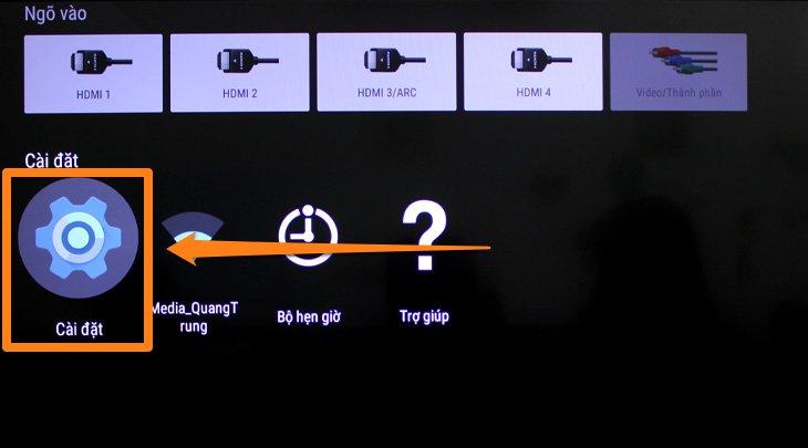 Cách cập nhật phần mềm tự động trên tivi sony 2
