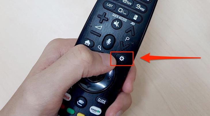 Cách tắt màn hình khi nghe nhạc trên Smart tivi LG 2