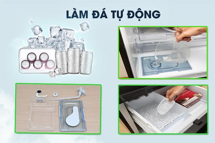Tính năng làm đá tự động trên tủ lạnh là gì? 2