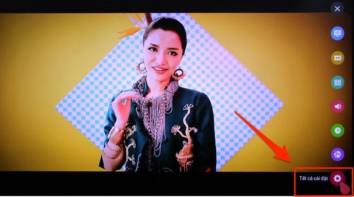 Cách tắt màn hình khi nghe nhạc trên Smart tivi LG 3