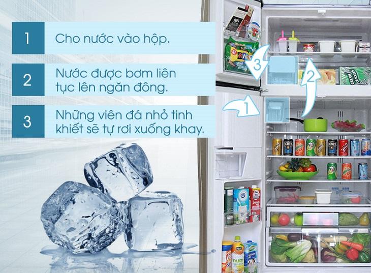Tính năng làm đá tự động trên tủ lạnh là gì? 3