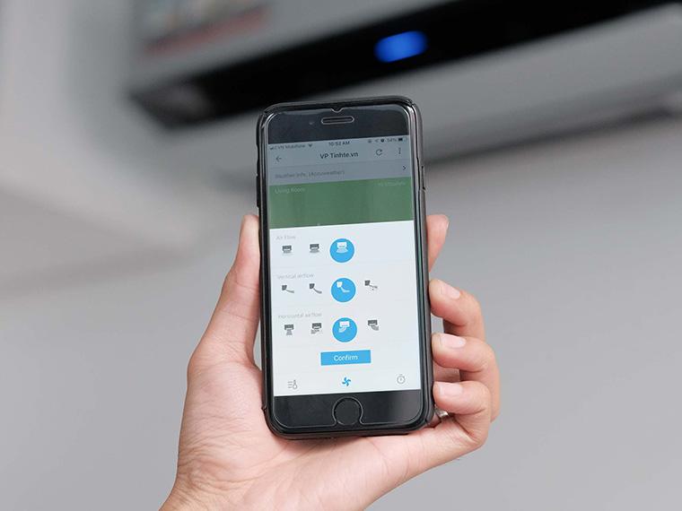 Những lợi ích khi mua điều hòa có chức năng điều khiển bằng điện thoại, có wifi 3