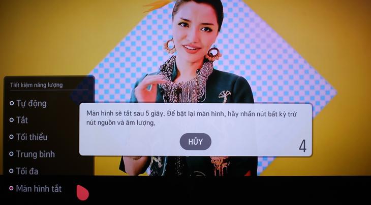 Cách tắt màn hình khi nghe nhạc trên Smart tivi LG 7