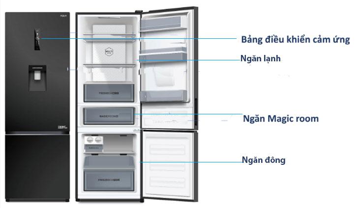 5 lý do nên mua tủ lạnh ngăn đá dưới Aqua 2019 2