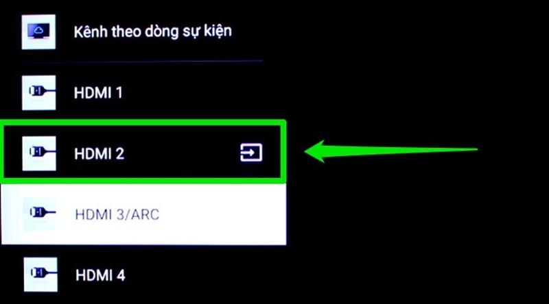 Trên tivi bạn sử dụng remote