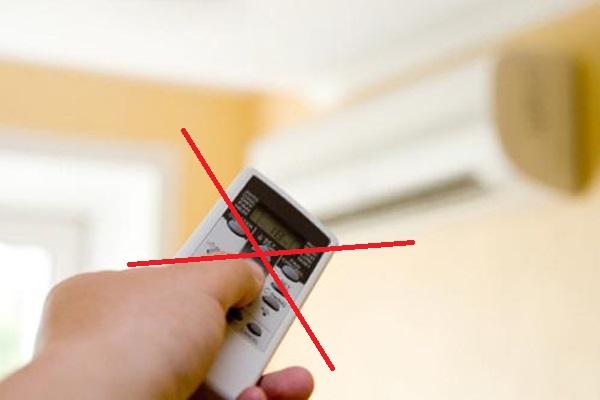 Làm thế nào để bật điều hoà khi bị mất remote? 1