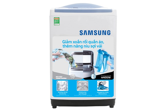 Máy Samsung 9 kg WA90M5120SW/SV