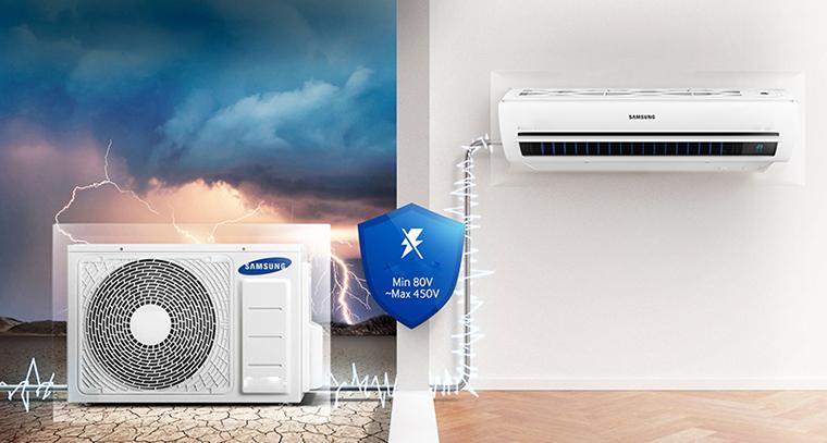 Bộ ba bảo vệ tăng cường trên điều hòa Samsung là gì? 3