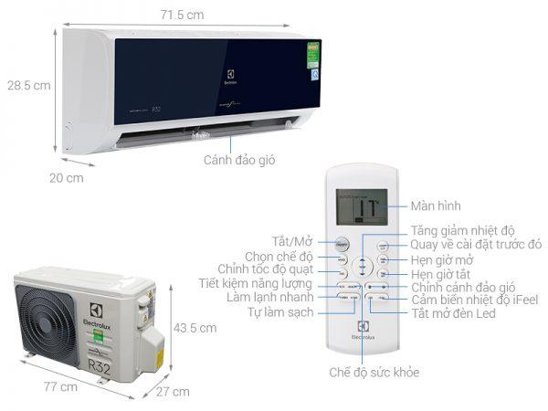 Điều hòa Electrolux ESV09CRO-D1 1