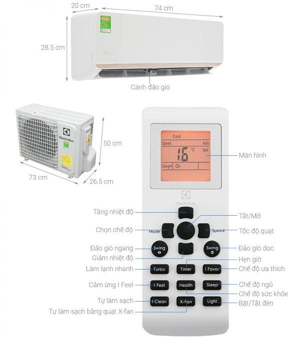 Điều hòa Electrolux ESV09CRR-C2 6