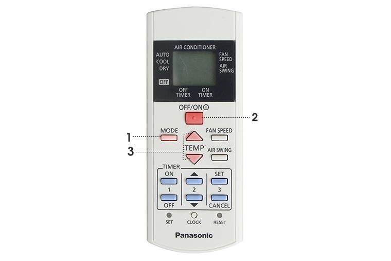Hướng dẫn dùng điều khiển điều hòa Panasonic (phần 2)