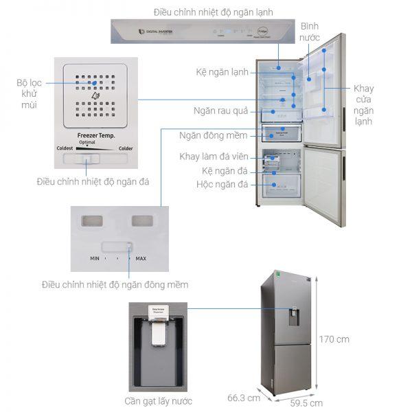 Tủ lạnh Samsung RB30N4170S8 9