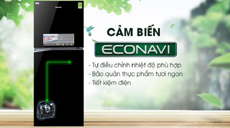 Tủ lạnh Panasonic Inverter 326 lít NR-BL359PKVN cảm biến econavi
