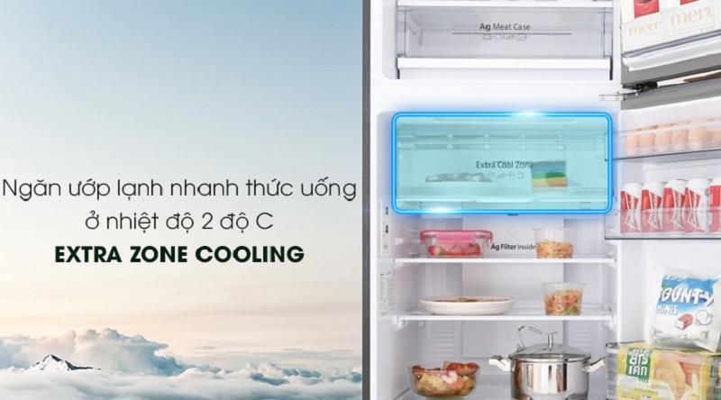 Tủ lạnh Panasonic Inverter 326 lít NR-BL359PKVN làm lạnh nhanh