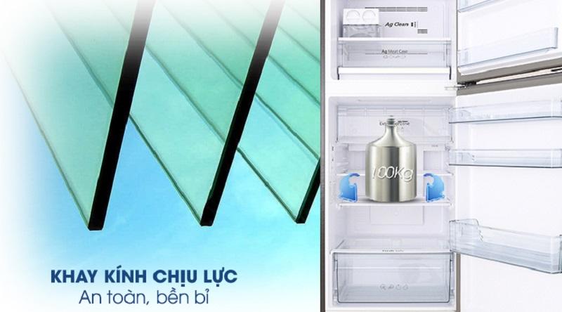 Tủ lạnh Panasonic Inverter 326 lít NR-BL359PKVN thiết kế an toàn