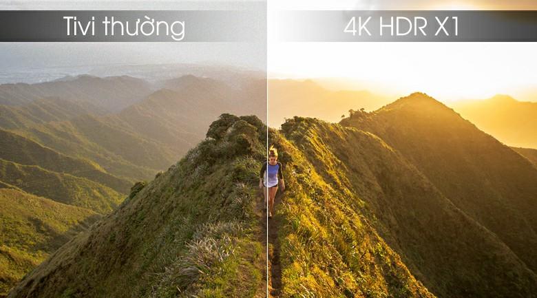 4K HDR X1