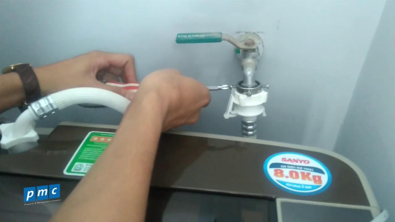 Tắc đường ống dẫn nước đầu vào