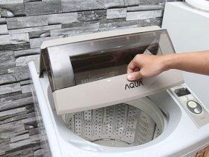 nắp máy giặt bị hở