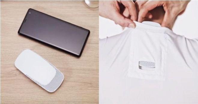 tích hợp điều hòa nhiệt độ vào áo