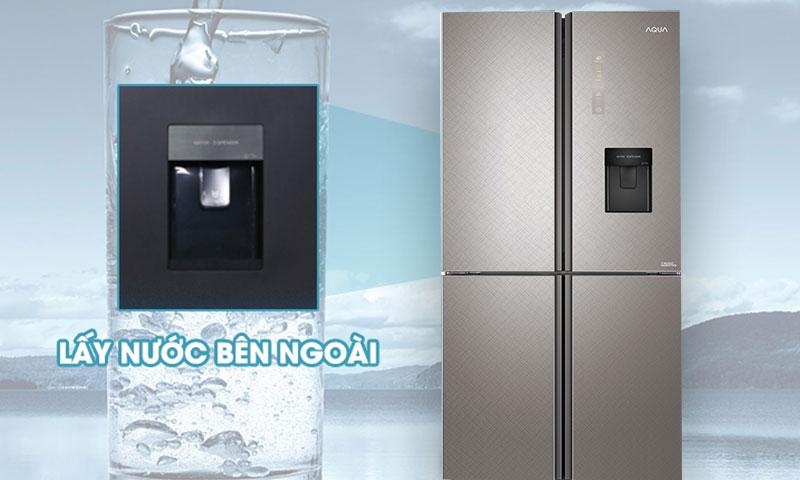tủ lạnh AQUA bốn cửa