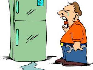 tủ lạnh bị hỏng