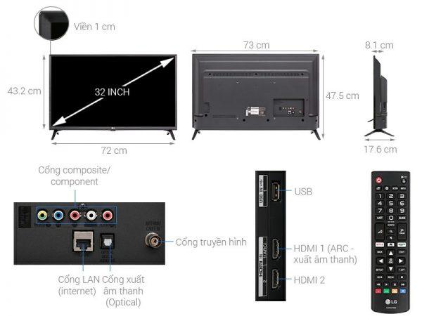 Smart Tivi LG 32LK540BPTA 32 inch
