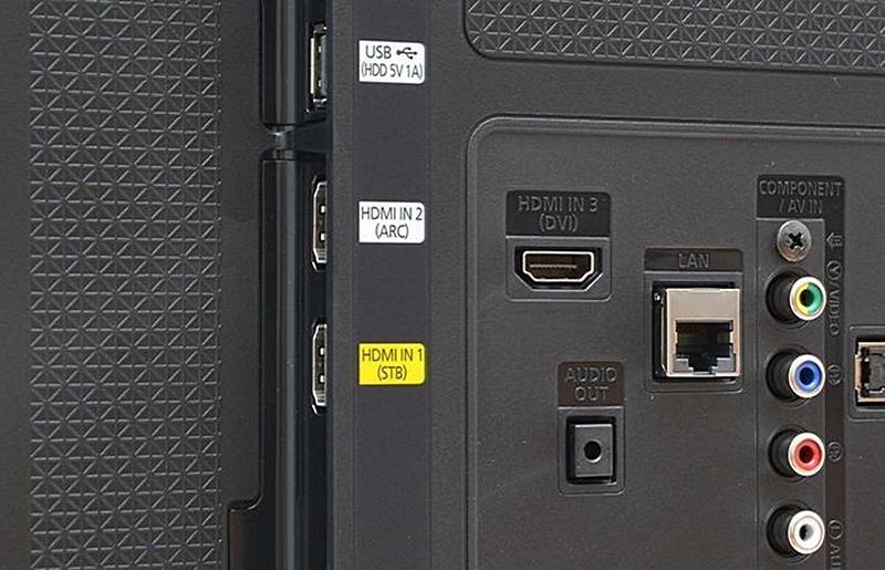 Ký hiệu HDMI (ARC) trên tivi