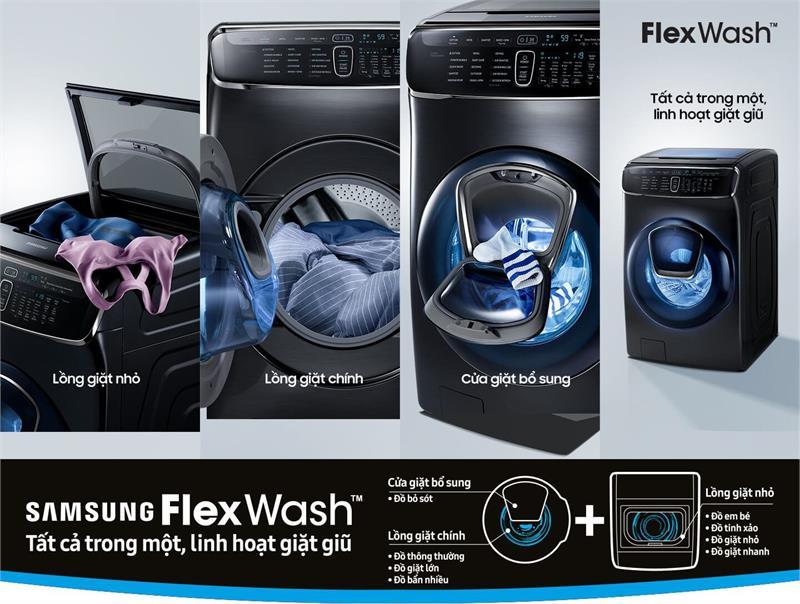 Máy giặt sấy Samsung WR24M9960KVSV