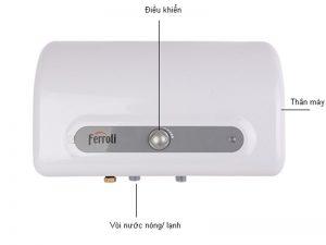 bình nóng lạnh ferroli QQEVO20ME-EH 1