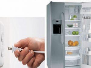 có nên rút điện tủ lạnh không