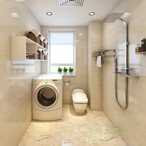 Không đặt máy giặt trong nhà tắm