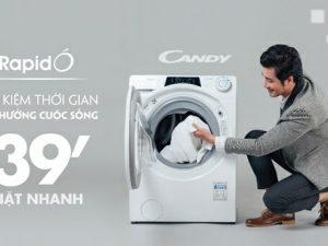 máy giặt Candy Rapido