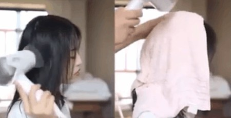 mẹo dùng máy sấy tóc