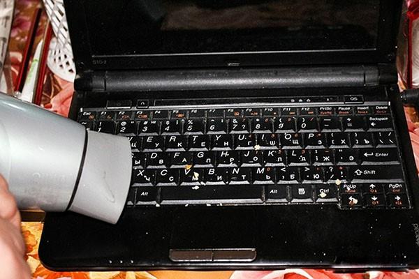 vệ sinh bàn phím máy tính