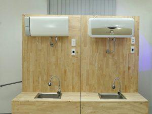 Bình nóng lạnh Panasonic DH-30HAM và Ariston SL 30 ST 2.5 FE-MT
